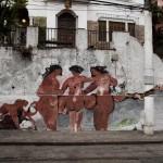 Wall in Santa Teresa, Rio de Janeiro, 2011, photo by Wilton Montenegro