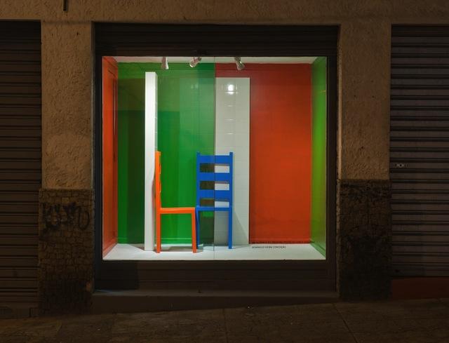 "Exhibition ""Vitrine Efêmera"" at  Estúdio Dezenove, Rio de Janeiro, 2013"