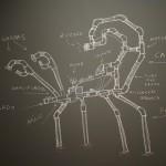 Escorpi_o_desenho_na_parede