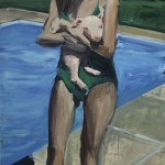"""Porquinho""[""Little Pig""], 2012, oil on canvas, 200x110cm"