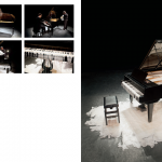 """Half of the speech on the ground - deaf piano"" 