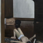 """Criado Mudo"" [""Night table'], 2011, oil on canvas, 200x183cm"
