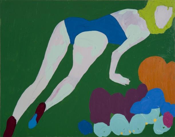 Tigresa, 2011  Oil on canvas  110x140cm