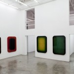 overview of the exhibition SUNBURST at galeria vermelho