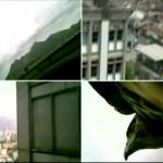 Viajando no Poder - Panorama do Estado da Universidade do Rio de Janeiro. Falcon, micro camera and monitoring system installed at the security cabin of the University. UERJ, 2011