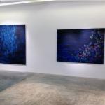 "Exhibition view ""Dusk to down… Threads of infinity"", 2014"