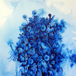"""""""Tropical"""", 2012, acrylic on canvas, 200x200 cm"""