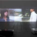 """Tempelhof / Aclimação"", 2012, Video HD in two superposed channels, 90 minutes"