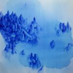 Untitled, 2011, acrylic on canvas, 200x200 cm