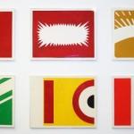 """O Triunfo do Projeto Construtivo Brasileiro"", 2011, 6 guache paintings on paper, 100x70 cm (each)"