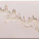 """Untitled (""""Paisagem Vazia""""), 2010, cut out appeal, 42x59,4 cm"""