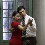 El tango del pasillo - frame 2 | 2009 | DVD-6min | co-authors: Gabriela Tapia and Gonzalo Beltran
