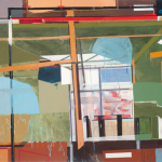 Gallery nº1, acrylic and oil on canvas, 150x300cm, 2011.
