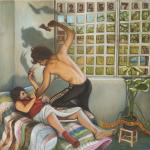 Holofernes & Judite, 2005, 68 x 65 cm, óleo sobre tela.