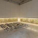 "Exhibition view, ""Primeira Pedra"",  Mendes Wood DM Gallery, São Paulo, 2015"