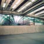 Window 23 | 2004 | installation at CCSP | plotting and sound | 15x2m