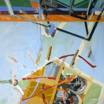 Landscape n29, acrylic and oil on canvas, 180x130cm, 2009.