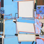 Studio nº29, acrylic and oil on canvas, 130x190cm, 2009
