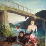 Tropical Tourists Zombies    185x 135   2011