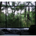 """The Glass House"", video installation, 10'25"", lopp, DVD, music Goh Lee Kwang, 2008."