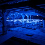 Chart Datum | 2010 I mixed media installation, 6X6X0.70mts, 60 T5 Fluorescent lamps, 36 motorized mechanism