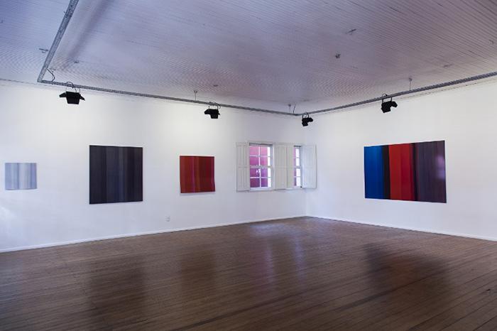 Tatiana Stropp Exhibition at Curitiba International Biennial, 2013, pictured by Rafael Dabul
