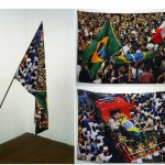 """Bandeira"" [""Flag""], 2012, digital print by sublimation on polyester fabric, eyelets and stitching, 85x130 cm, edition of 3 copies + 1 A.P. of"