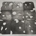 Floor Piece - Black Swiss 2015, bronze Edition: N/A, 1 x 147 x 147 cm