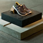 morena [brunette]#bronze#G I A N T 2013, concrete, bronze and sneakers Edition: N/A, 73,5 x 79 x 42 cm