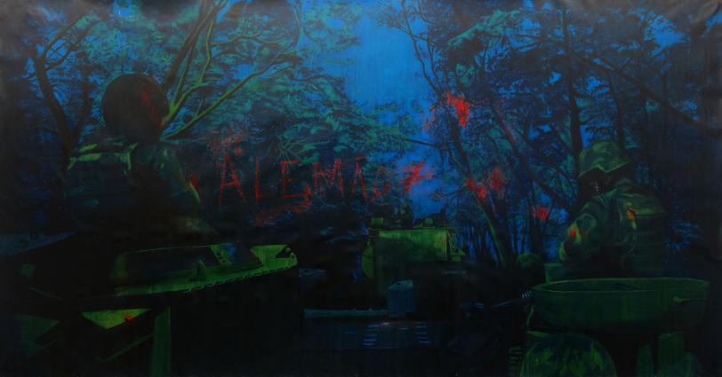 Occupancy (Alemão) | 2011 | acrylic on canvas