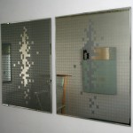 """Mirror, puzzle"", 2005, object, glass and mirror"