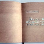 """Querido Diário""[""Dear Diary""], 2012, artist's book printed in offset, 13x10 cm, 500 copies"