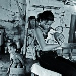 Love with Life 008- Young mother in the slum