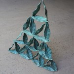 """Magic"", 2011, patinated bronze, 58x40x8 cm"