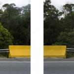 """Ponte"", fotografia-diptico, 280 x 70 cm, 2010"