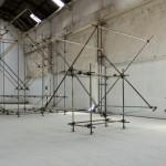 """""""Travessias"""" (vista da exposição) - 2011"""
