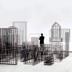 """""""Entonces"""" (vista da exposição) - 2004"""