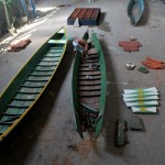 """""""Project Margins"""" (Projeto Margens), 2013, developed in cooperation with shipwrights on the margins of the Tocantins River, in the city of Marabá-PA."""