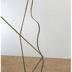 """""""Escultura Modelo"""", 2013, watercolor on primed iron 272x340x150 cm."""