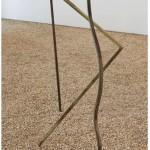 """Escultura Modelo"" ( detail), 2013, watercolor on primed iron 272x340x150 cm."