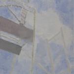 Bruno Dunley, Montanha russa III, 2009, óleo e cera sobre tela, 30 x 40 cm