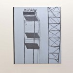 Bruno Dunley, Montanha russa VII, 2010, oleo sobre tela, 180 x 151 cm