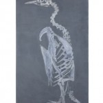 Bruno Dunley, Pinguim, 2011, oil on canvas, 180 x 100 cm