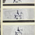 Bruno Dunley, s_ título (homenagem a E. J. Marey),2012, oleo sobre tela, 66 x52 cm