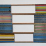 """Horizonte Vazado"", 2007, nylon and wood, 173x300cm"
