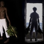 Ayrson Heráclito. O Sacudimento da Maison des Esclaves em Gorée, Diptych, Sacerdotes, 2015.