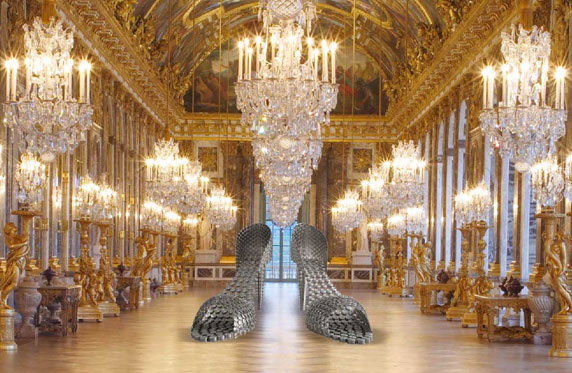 Joana Vasconcelos at the Château de Versailles - PIPA Prize