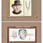Beuysiana I (2009) 55 x 38 cm; colagem e aquarela sobre papel