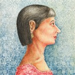 Mulher (2008) 31 x 21 cm, aquarela sobre papel