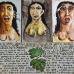 Sem Título (1996) 70 x 80 cm, acrílica sobre tela
